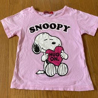 スヌーピー(SNOOPY)のSNOOPY 半袖 Tシャツ 120(Tシャツ/カットソー)