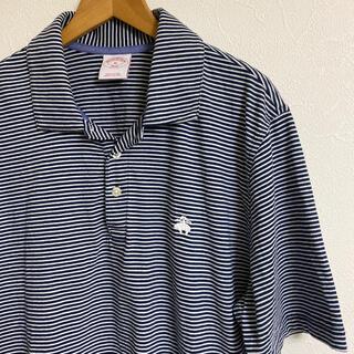 ブルックスブラザース(Brooks Brothers)のブルックスブラザーズ 天竺ボーダー ポロシャツ Mサイズ(ポロシャツ)