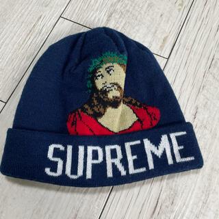 Supreme - Supreme シュプリーム  ニット帽 ロゴ キリスト グラフィック