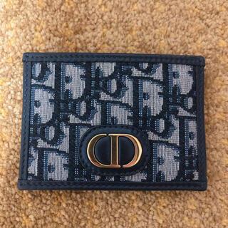 クリスチャンディオール(Christian Dior)の30 MONTAIGNEカードホルダー ディオール オブリーク ジャカード(名刺入れ/定期入れ)