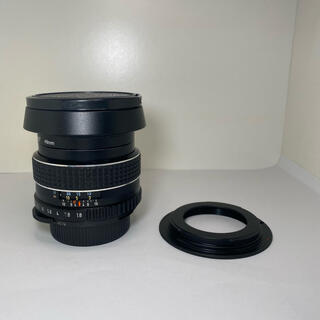 キヤノン(Canon)の宝石タクマー リングボケ 55mm F1.8 EFマウントアダプター付き(レンズ(単焦点))