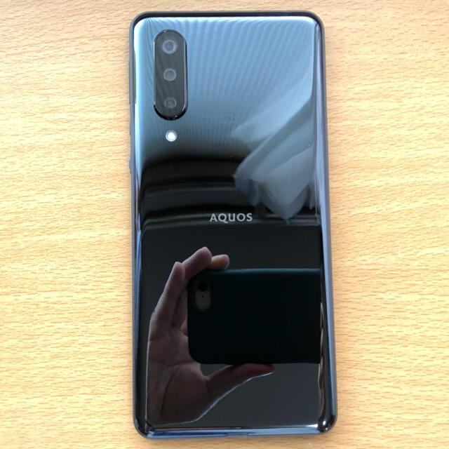 AQUOS(アクオス)のAQUOS zero5G basic Black スマホ/家電/カメラのスマートフォン/携帯電話(スマートフォン本体)の商品写真