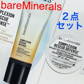 bareMinerals - 未開封✨2点セット☆CR ディフェンス モイスチャライザー♡ベアミネラル