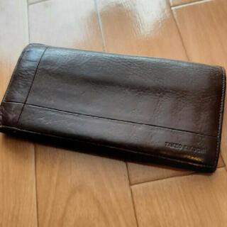 タケオキクチ(TAKEO KIKUCHI)の長財布 メンズ タケオキクチ 茶(長財布)