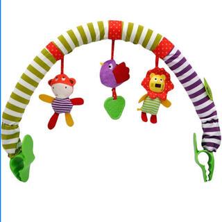 アップリカ(Aprica)のママス&パパスベビーカーバウンサーアクセサリーベビージムベビーベッドおもちゃ(ベビーカー用アクセサリー)