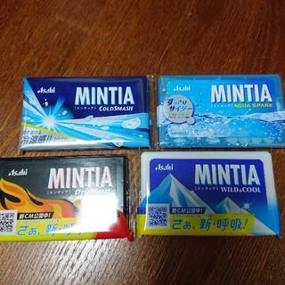 アサヒ(アサヒ)のミンティア 4種(菓子/デザート)