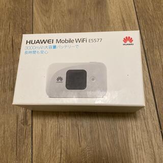 HUAWEI - HUAWEI モバイルルーター TECHNOLOGIES E5577