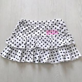 ジェニィ(JENNI)のJENNI ドット柄スカート 140cm(スカート)