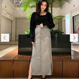 エモダ(EMODA)のEMODA/クラッシュロングスカート(ロングスカート)
