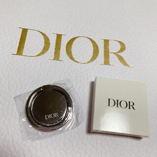ディオール(Dior)のDIOR ノベルティ スマホリング(ノベルティグッズ)