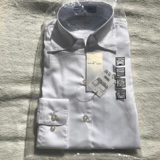 アオキ(AOKI)のAOKI LES MUES スキッパーワイシャツ 長袖(シャツ/ブラウス(長袖/七分))