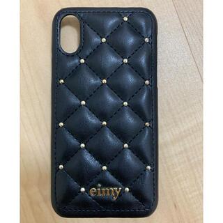 エイミーイストワール(eimy istoire)のeimy iPhoneカバー X.XS(iPhoneケース)