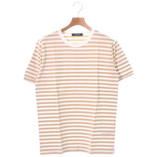 nano・universe - nano・universe BASEMENT ボーダーTシャツ