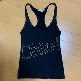 クロエ(Chloe)の美品 クロエ トップス(Tシャツ(半袖/袖なし))