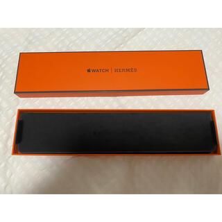 エルメス(Hermes)の安くします!Apple Watch Hermès エルメス 本革バンド 黒(レザーベルト)