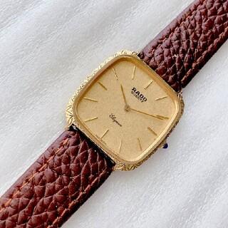 ラドー(RADO)の電池交換済み RADO  Elegance メンズクォーツ時計 稼動品(腕時計(アナログ))