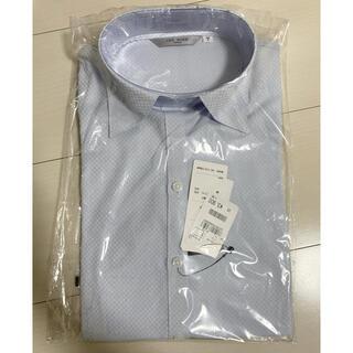 アオキ(AOKI)の【新品】AOKI スキッパーシャツ 半袖(シャツ/ブラウス(半袖/袖なし))
