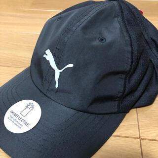 プーマ(PUMA)のPUMA プーマ ランニングキャップ 帽子 ランニング テニス 黒(キャップ)