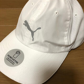 プーマ(PUMA)のPUMA プーマ ランニングキャップ 帽子 ランニング テニス 白(キャップ)