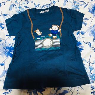 familiar - ファミリア カメラTシャツ