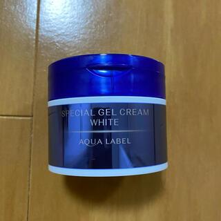 アクアレーベル(AQUALABEL)のアクアレーベル スペシャルジェルクリームA ホワイト(オールインワン化粧品)