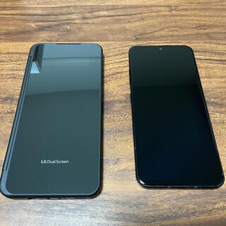 エルジーエレクトロニクス(LG Electronics)の【5G】LG V60  L51A ブラック SIMロック解除済み(スマートフォン本体)
