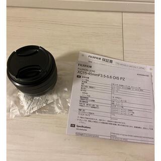 フジフイルム(富士フイルム)のfujifilm  XC15-45mm F3.5-5.6 OIS PZ ブラック(レンズ(ズーム))