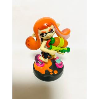 ニンテンドウ(任天堂)のオレンジガール インクリング イカガール amiibo アミーボ スプラトゥーン(ゲームキャラクター)
