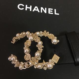 シャネル(CHANEL)のシャネルCHANEL完売ロゴパールゴールドベルト新品未使用品(ベルト)