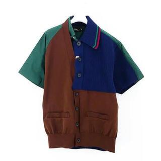 kolor - kolor 21ss ドッキングシャツ