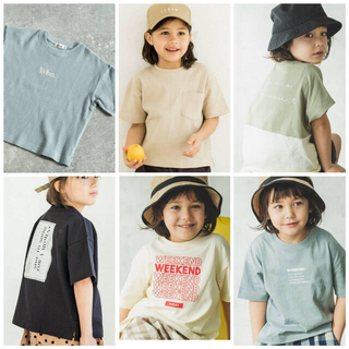 petit main - 新品 ペアマノン 120cm Tシャツ 6枚セット