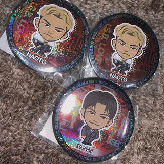 サンダイメジェイソウルブラザーズ(三代目 J Soul Brothers)のNAOTO 缶バッジ(男性タレント)
