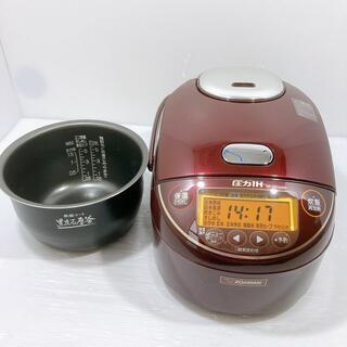ゾウジルシ(象印)の[良品] 象印炊飯器 NP-ZV102BK 圧力IH(炊飯器)