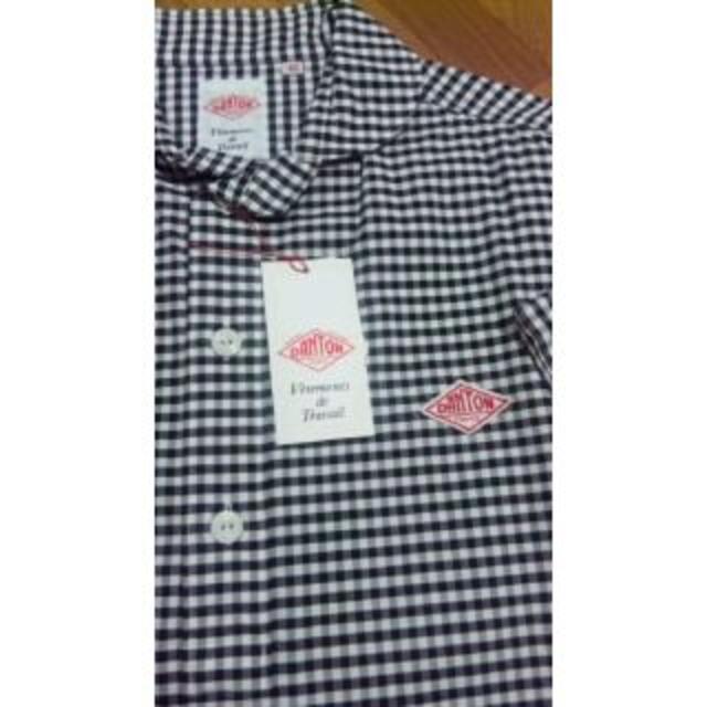 DANTON(ダントン)の新品Danton半袖丸襟プルオーパーシャツ42 メンズのトップス(シャツ)の商品写真