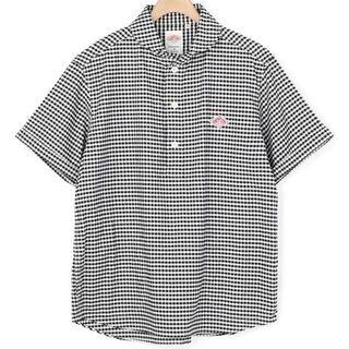ダントン(DANTON)の新品Danton半袖丸襟プルオーパーシャツ42(シャツ)