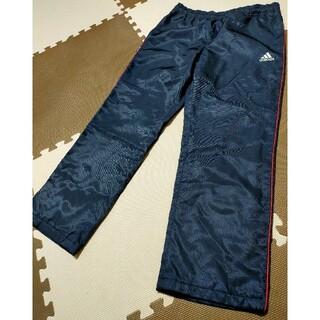 アディダス(adidas)の☆adidas アディダス ウインドブレーカーパンツ 紺&赤 サイズL(ウェア)