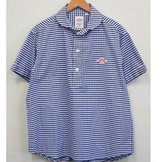 ダントン(DANTON)のバボばあ様♡未使用ダントン半袖丸襟プルオーパーシャツ40(シャツ)