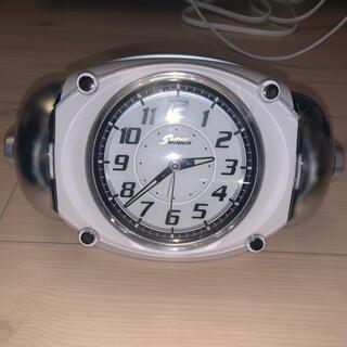 セイコー(SEIKO)の目覚まし時計 SEIKO  Super RAIDEN シルバー(置時計)