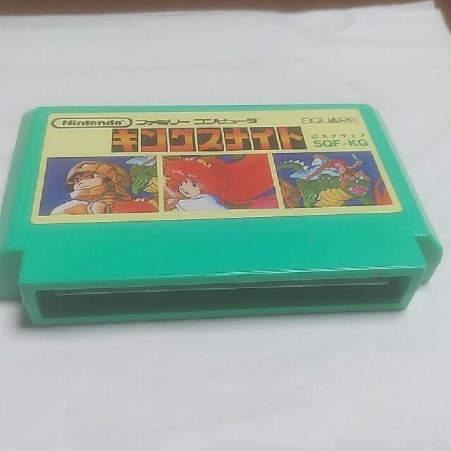 任天堂(ニンテンドウ)のファミコンソフトキングスナイト エンタメ/ホビーのゲームソフト/ゲーム機本体(家庭用ゲームソフト)の商品写真