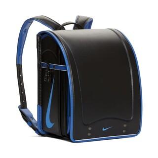 ナイキ(NIKE)のNIKE ナイキ ランドセル 2021年度モデル ブラック/ブルー(ランドセル)