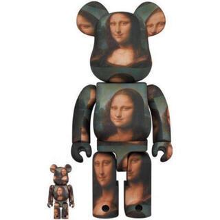 メディコムトイ(MEDICOM TOY)のBE@RBRICK Mona Lisa 100% & 400%(フィギュア)