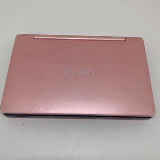 シャープ(SHARP)のシャープ SHARP Brain 電子辞書 PW-SH2 ピンク 充電器つき(電子ブックリーダー)