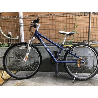 ルイガノ(LOUIS GARNEAU)のルイガノkids自転車24インチ 2014モデル  BLUE  おまけ付き(自転車)
