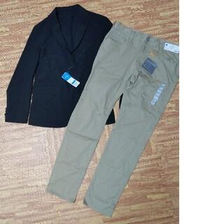 ジーユー(GU)のGU  ストレッチジャケット&パンツ(テーラードジャケット)