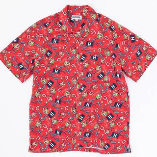アウトドアプロダクツ(OUTDOOR PRODUCTS)の【未使用】男女兼用outdoor products カープコラボアロハシャツ(シャツ)