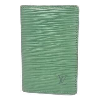 ルイヴィトン(LOUIS VUITTON)のルイヴィトン Louis Vuitton カードケース 名刺入れ メンズ(名刺入れ/定期入れ)