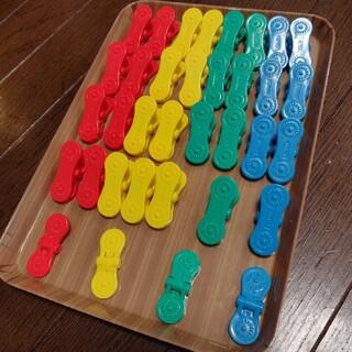 コクヨ(コクヨ)のアイクリップ 知育玩具 35個(知育玩具)
