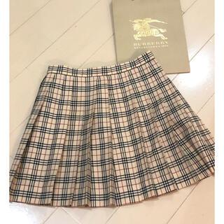 バーバリー(BURBERRY)の週末限定お値下げ!!☆BURBERRY☆プリーツスカート☆120(スカート)