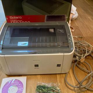 キヤノン(Canon)のCanon LBP3000 A4モノクロレーザープリンタ(PC周辺機器)