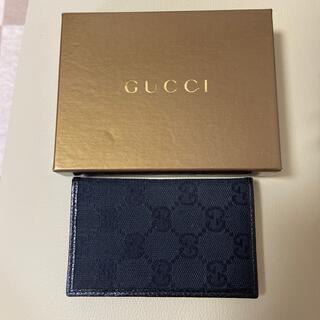 グッチ(Gucci)のGUCCI グッチ カードケース 定期入れ (名刺入れ/定期入れ)